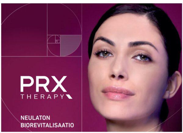 PRX-Therapy hoito saatavilla kauneushoitola Ihana Valosta